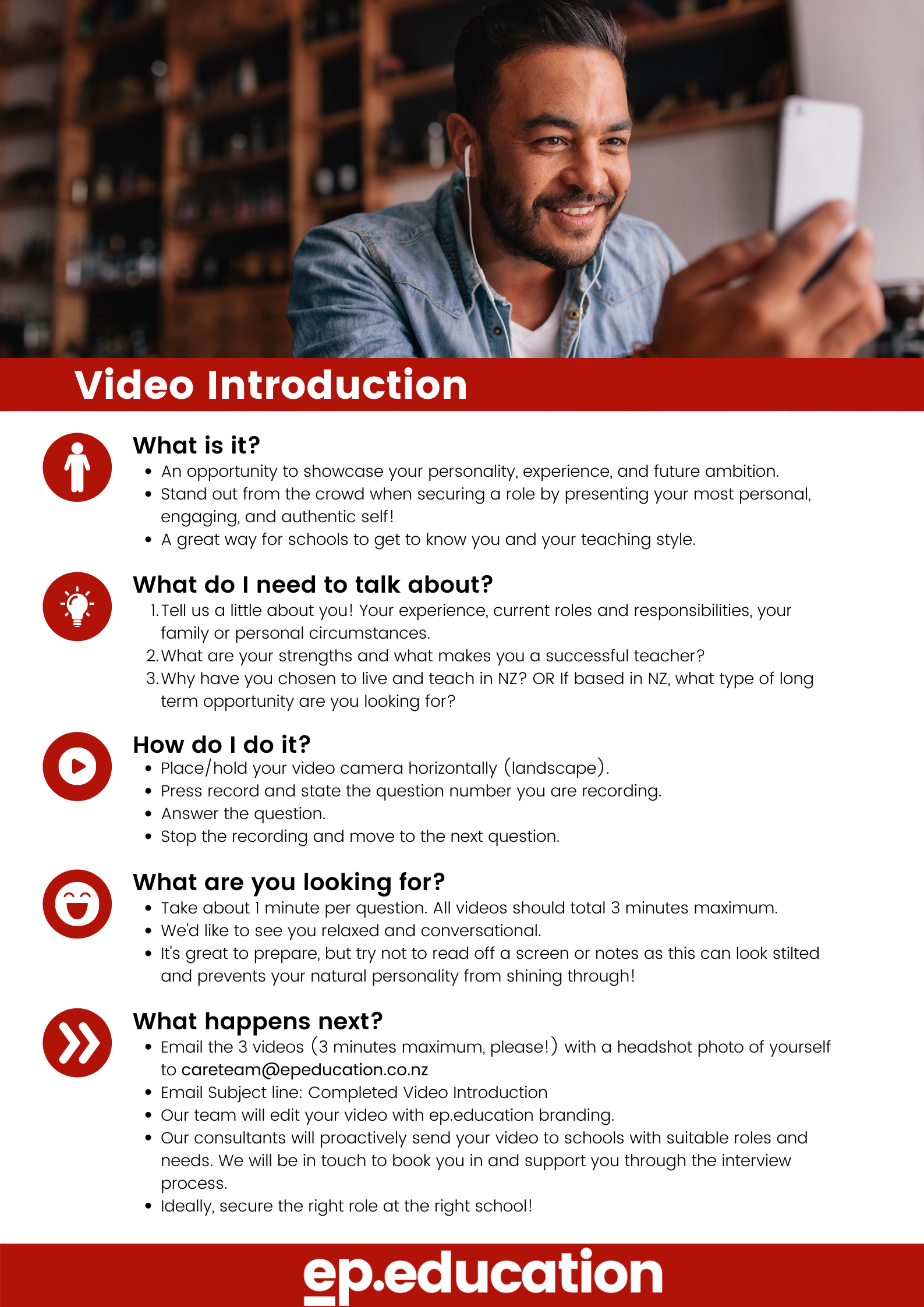 Video Introduction Instructions